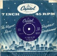 Nat King Cole - Let There Be Love/I'm Lost (CL 15257) M-